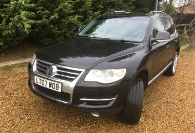 SW Car Supermarket Volkswagen Touareg V6 Se Tdi estate