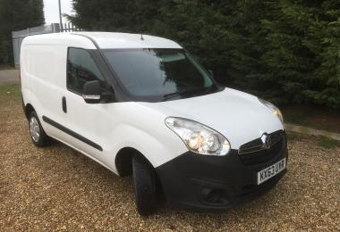 SW Car Supermarket Vauxhall Combo 2000 L1h1 Cdti panel van (integral)