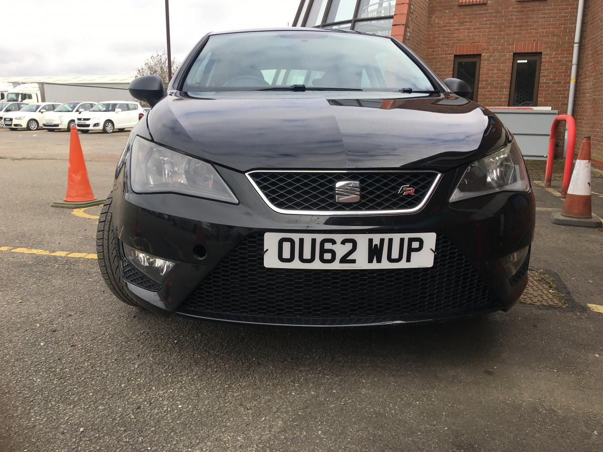 SEAT Ibiza 1.6 TDI CR FR SportCoupe 3dr - 2012 - £3,999