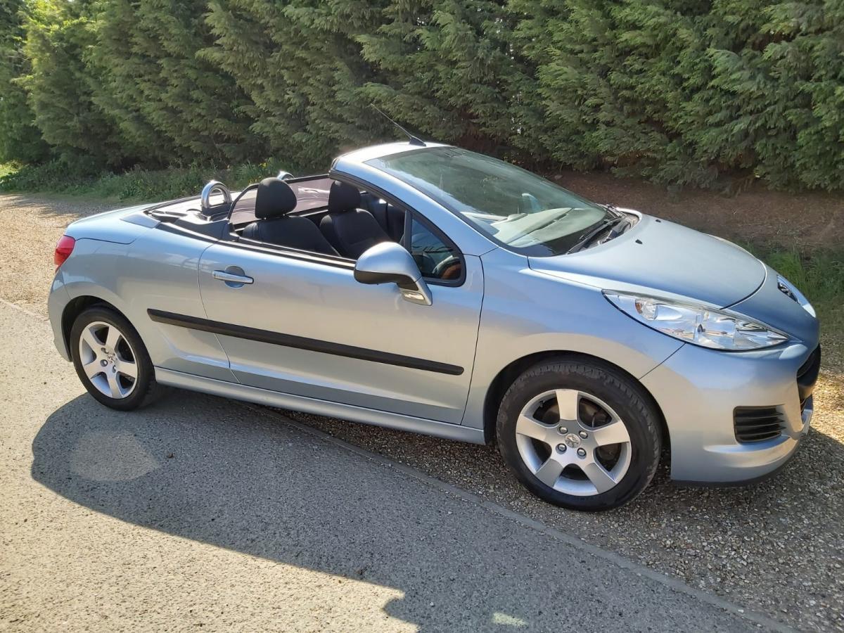 Peugeot 207 CC 1.6 VTi Sport 2dr - 2010 - £2,999