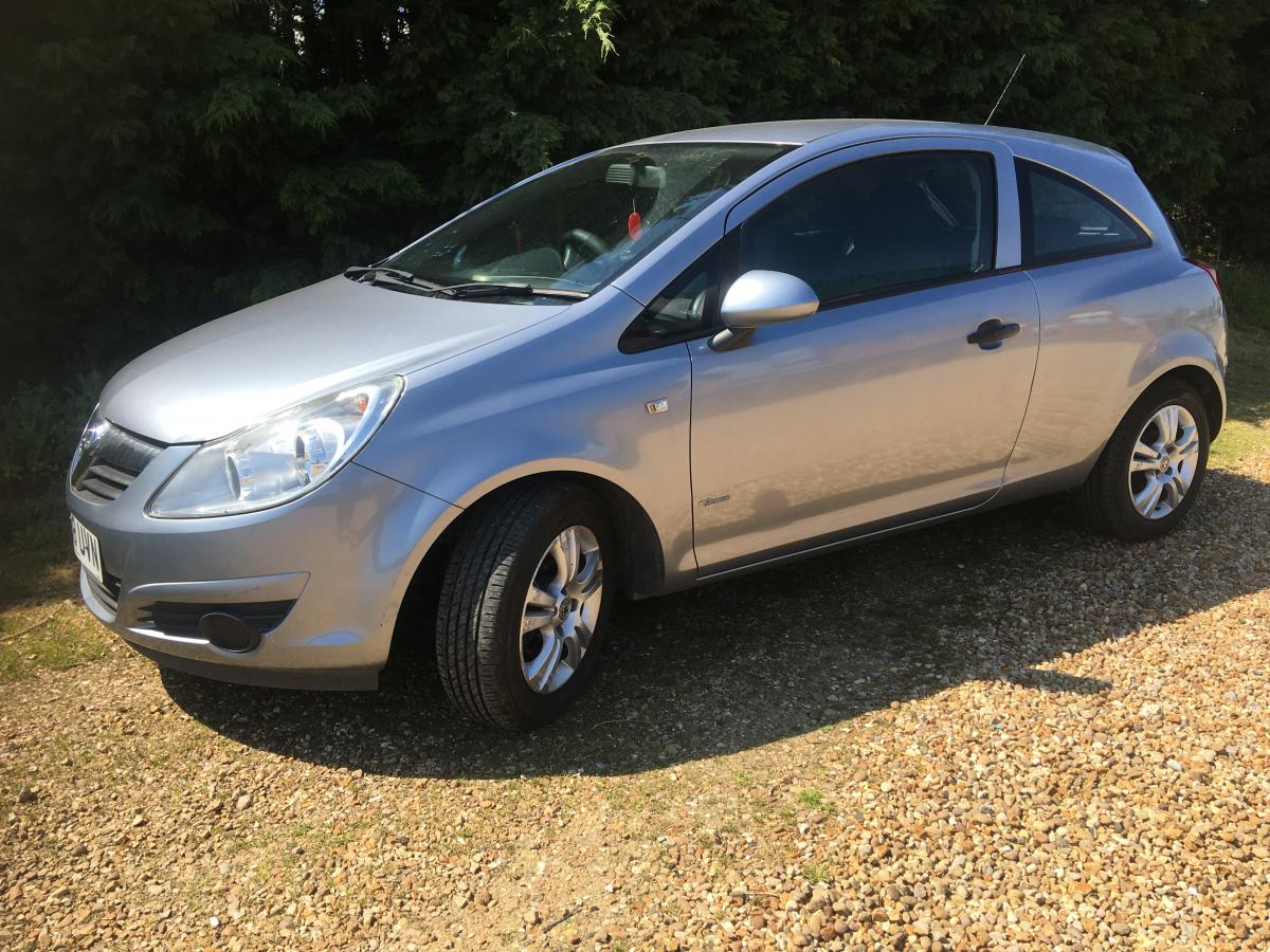 Vauxhall Corsa Breeze 3 door hatchback